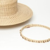 Image of Hat, sweetgrass by Irene Foreman