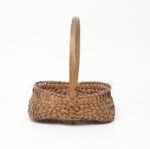Image of Egg-gathering basket, split oak