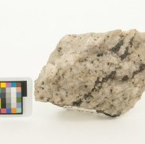Image of Albite, 11292 with scale bar.