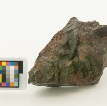 Image of Anorthite, 11981 with scale bar.