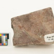 Image of Marble, 12468 with scale bar.
