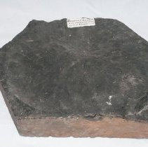 Image of Basalt, 11134 with scale bar.