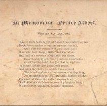 Image of In Memoriaum - Prince Albert