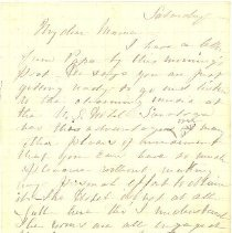 Image of Ltr from Henrietta Aiken Rhett
