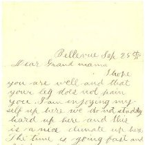Image of Ltr from William Aiken Rhett