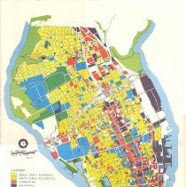 Image of Existing General Land Use Plan:  Peninsular Portion of the City of 