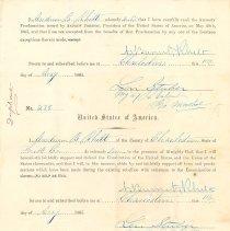 Image of Oath of Andrew B. Rhett - Record, Military