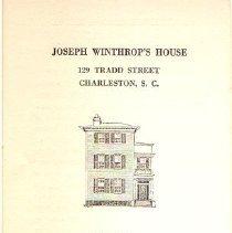Image of House Description, 1949