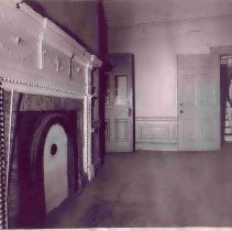 Image of 2 Amherst Street, Interior Room With Fireplace - 1960s?