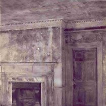 Image of 2 Amherst Street, Interior Room with Fireplace - ca. 1960