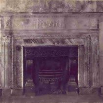 Image of 2 Amherst Street Fireplace and Mantel - ca. 1960