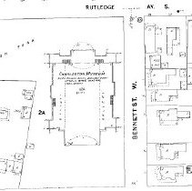 Image of 1 Bennett Street, etc. (1944 Sanborn)
