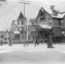 Image of 170-172 Broad Street in the Snow - ca. 1898-1912