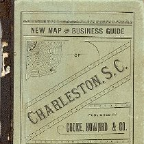 Image of Cooke, Howard & Co.'s Pocket Map and Business Guide of Charleston, S.C. -