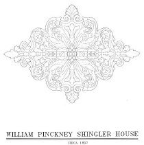 Image of William Pinckney Shingler House Ceiling Medallion