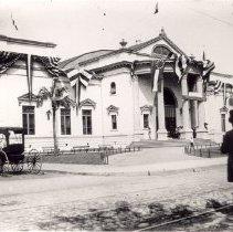 Image of Thompson Autditorium, Confederate Veterans Reunion - ca. 1902