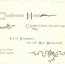 Image of Charleston Hotel : Entirely Remodeled and Under New Management -