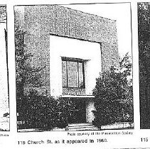 Image of 115 Church St. Over the Years