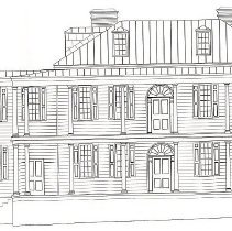 Image of 47 Church St., west elevation