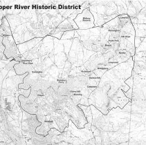 Image of Map, Cooper River Hist. Dist.