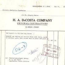 Image of H.A. DeCosta Company Invoices - Invoice