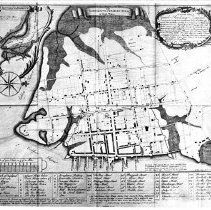 Image of The Ichnography of Charles Town at High Water (1739)  - Map