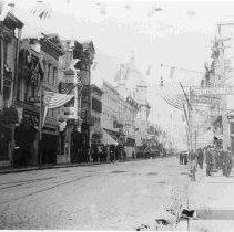 Image of King Street, Fleet Week 11/20/12 - ca. 1898-1912