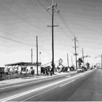 Image of Pure Gas Station - ca. 1950s