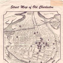 Image of Street Map of Old Charleston