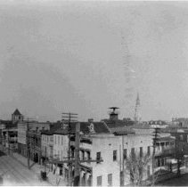 Image of Looking Notheast at Meeting and Chalmers Street - ca. 1898-1912