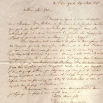 Image of Ltr from Eugene Dutilh to his son