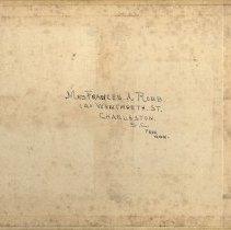 Image of Photo Album Cover, Verso