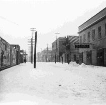 Image of State Street in the Snow - ca. 1898-1912