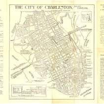Image of The City of Charleston, South Carolina [map] - Map