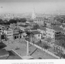 Image of Looking Northeast from St. Michael's Tower - 1893