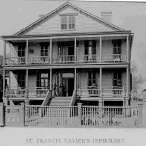 Image of St. Francis Xavier Infirmary - 1893