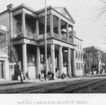 Image of South Carolina Society Hall - 1893