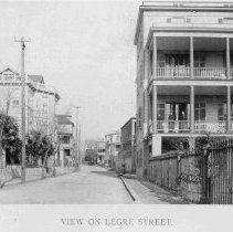 Image of View on Legare Street - 1893