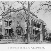 Image of Residence of Geo. W. Williams, Sr. - 1893