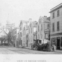Image of View on Broad Street - 1893