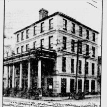 Image of Building That  Originally Stood on the Site