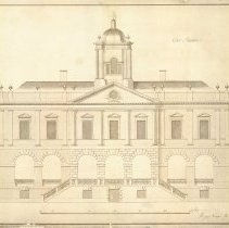 Image of The Exchange, 1766-1973:  A Portfolio Reproduced from the Original Plans and Drawings of W. Rigby Naylor, 1766-1777 [Old Exchange Building, 122 East Bay Street] - Drawing, Architectural