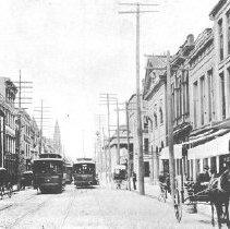 Image of Broad Street, Looking West, ca. 1901