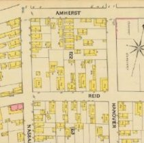Image of Amherst Street (1888 Sanborn Map)