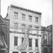 Image of People's National Bank of Charleston, ca. 1901