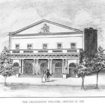 Image of Charleston Theatre, Built by West and Bignall