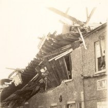 Image of I.M. Pearlstine Building After the 1938 Tornadoes - 1938