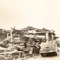 Image of Market Street After the 1938 Tornadoes - 1938