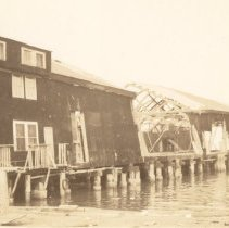Image of United Fruit Company Dock After the 1938 Tornadoes - 1938