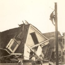Image of Home in Ruins After the 1938 Tornado - 1938